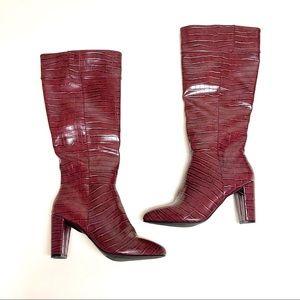 NEW Jones New York Knee High Heel Boots